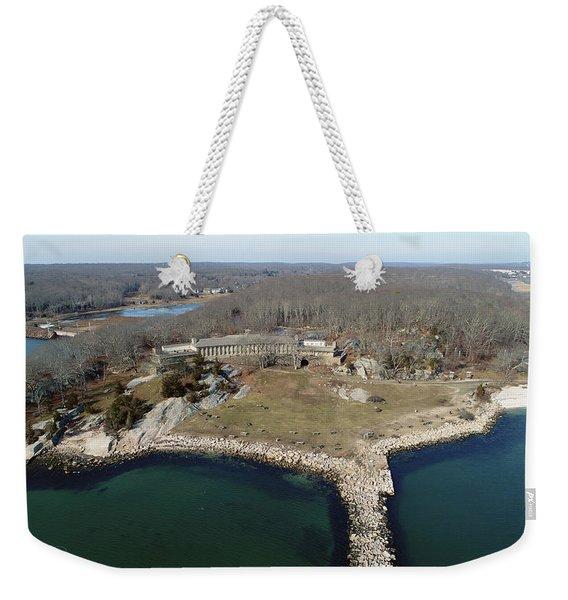 Rocky Neck Paviliion Weekender Tote Bag