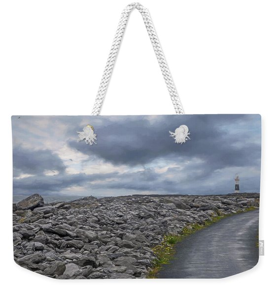 Rocky Road To The Lighthouse Weekender Tote Bag