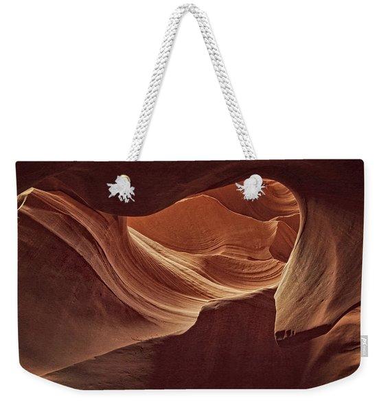 Rocky Swirls Dist Weekender Tote Bag