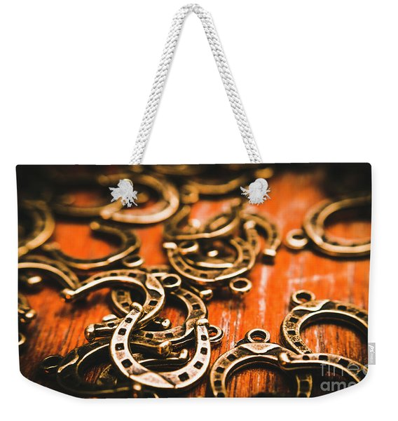 Rodeo Abstract Weekender Tote Bag