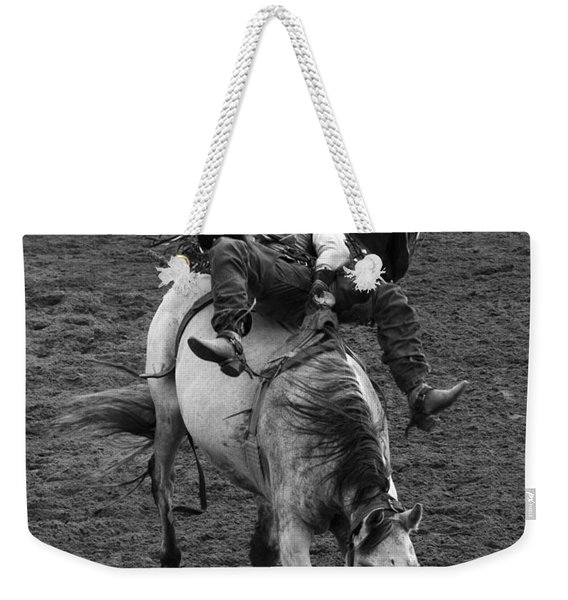 Rodeo Bareback Riding 13 Weekender Tote Bag