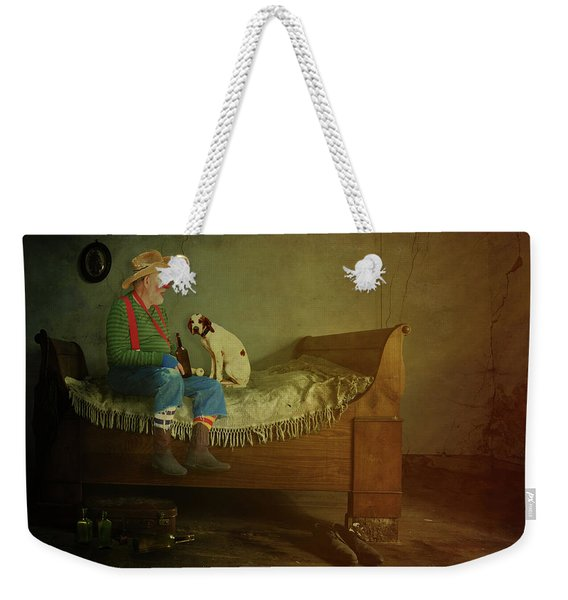 Rodeo Clown Weekender Tote Bag