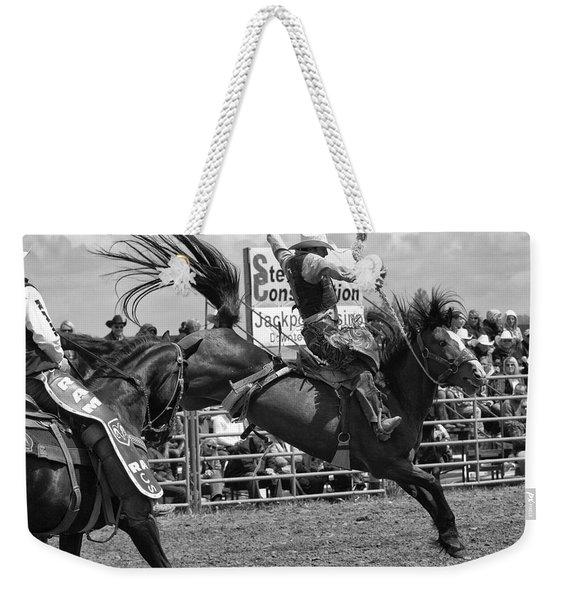 Rodeo Saddleback Riding 15 Weekender Tote Bag