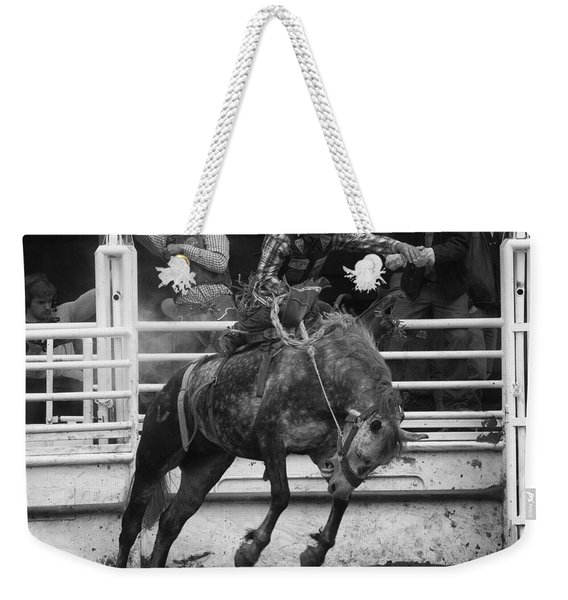 Rodeo Saddleback Riding 4 Weekender Tote Bag