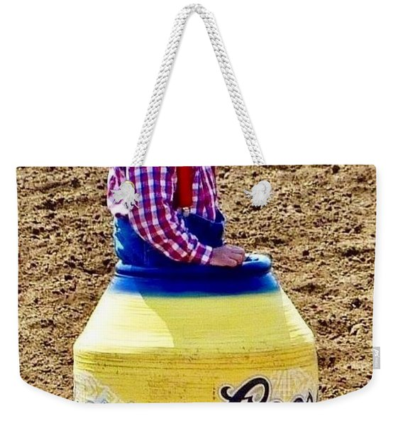 Rodeo Time Clown  Weekender Tote Bag