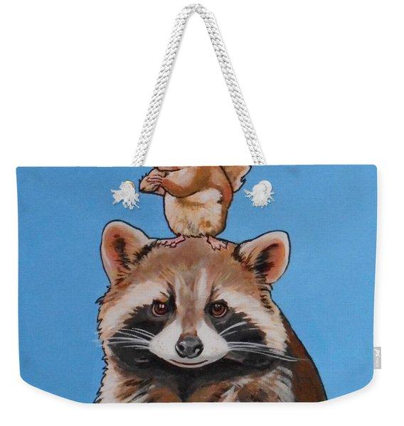 Rodney The Raccoon Weekender Tote Bag