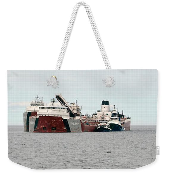 Roger Blough Aground Weekender Tote Bag