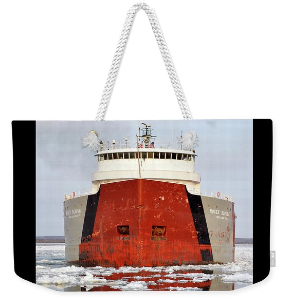 Roger Blough Weekender Tote Bag