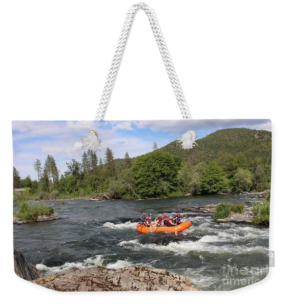 Rogue River Fun Weekender Tote Bag