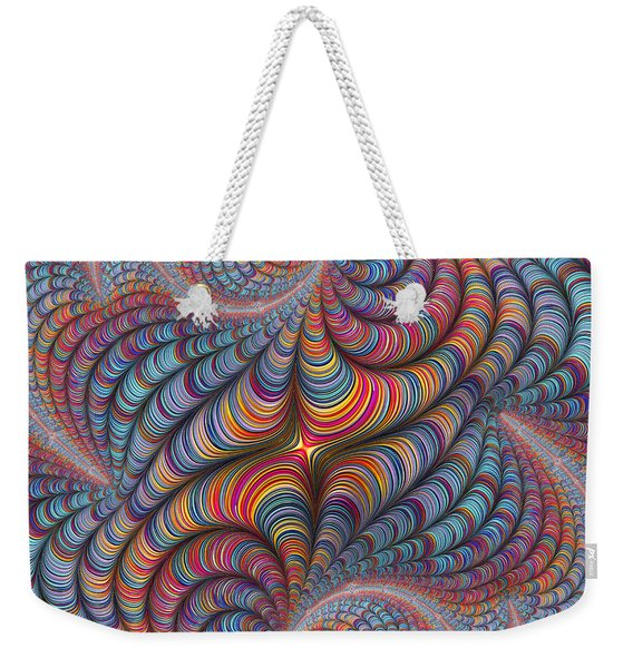 Rolled Blanket Bingo Weekender Tote Bag