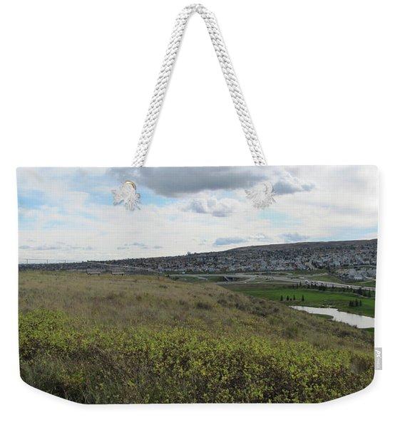 Rolling Hill Weekender Tote Bag