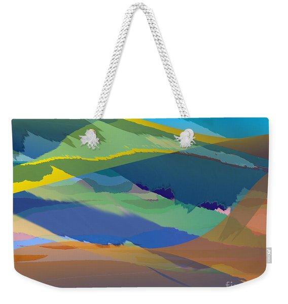 Rolling Hills Landscape Weekender Tote Bag