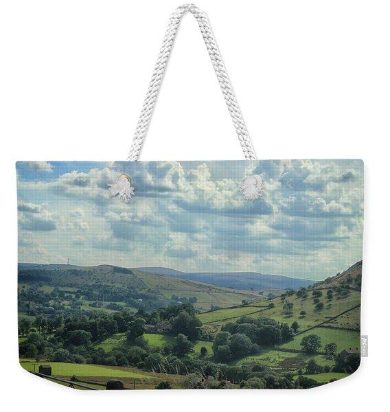 Rolling Hills Weekender Tote Bag