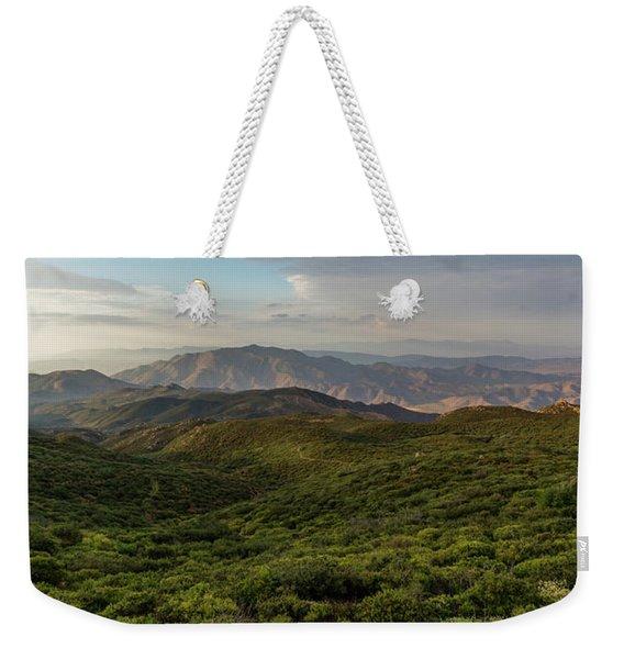 Rolling Hills Of Chaparral Weekender Tote Bag