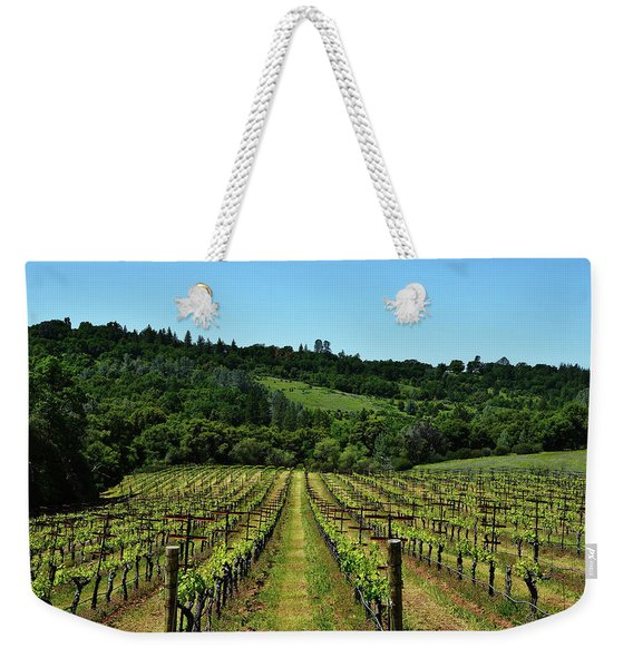 Rolling Hills Winery Grapevines   Weekender Tote Bag