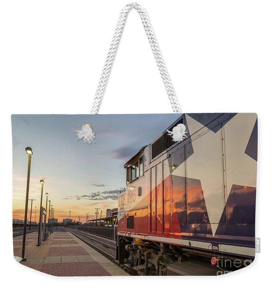 Rolling Into The Sunset Weekender Tote Bag
