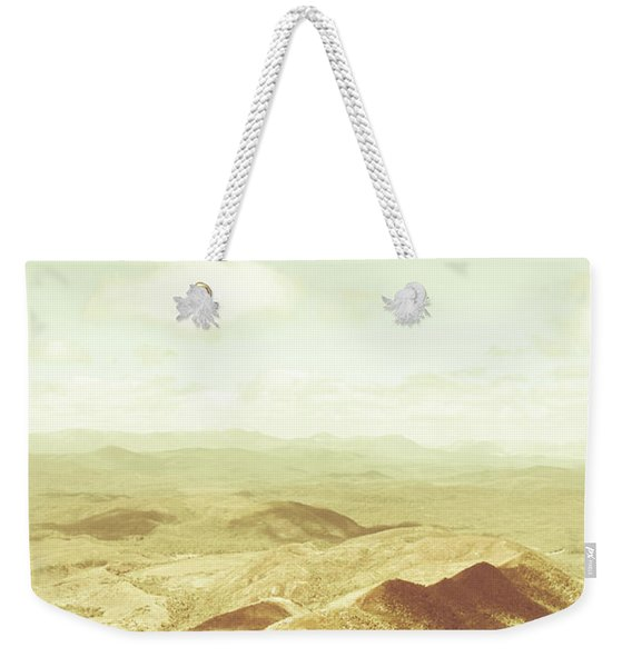 Rolling Rural Hills Of Zeehan Weekender Tote Bag