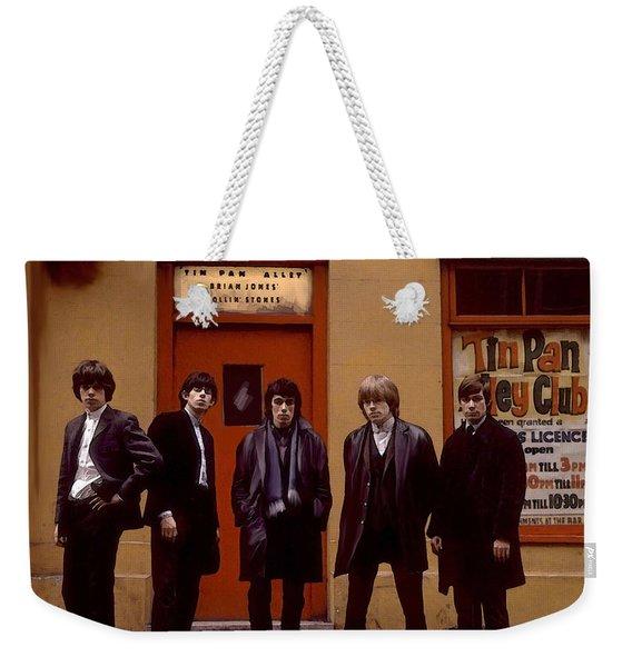 Rolling Stones Tin Pan Alley Brian Jones Weekender Tote Bag