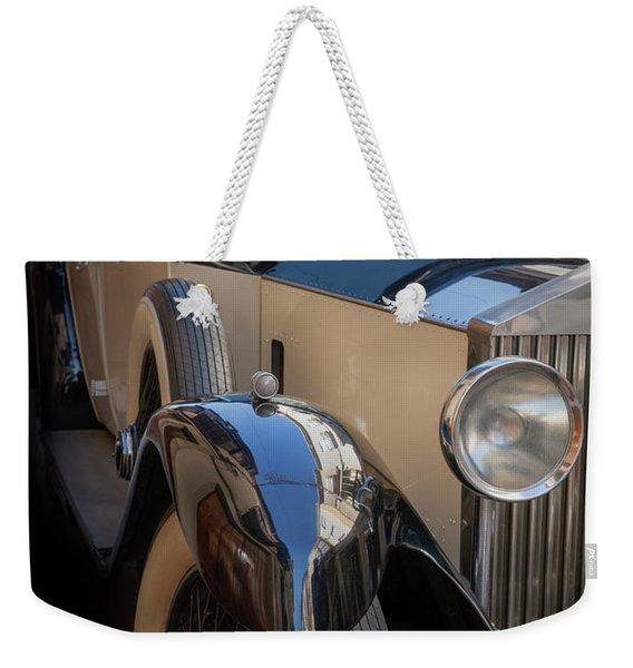 Rolls-royce Close-up Weekender Tote Bag