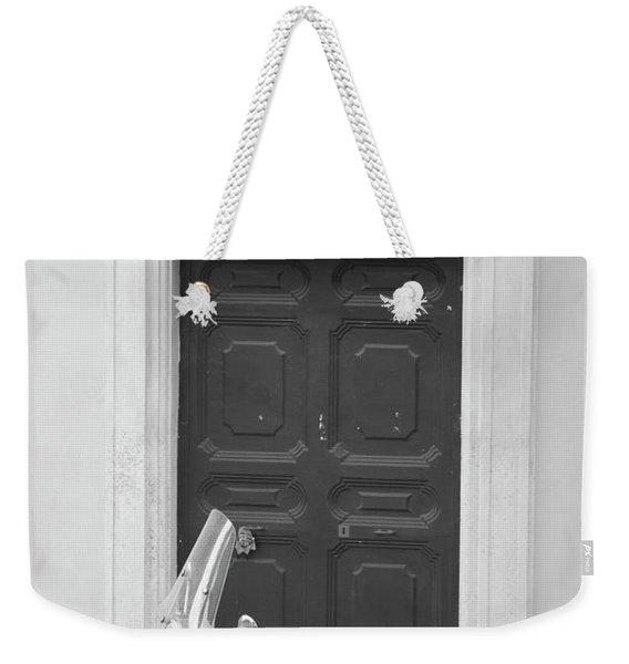 Roma Vespa And Door  Weekender Tote Bag