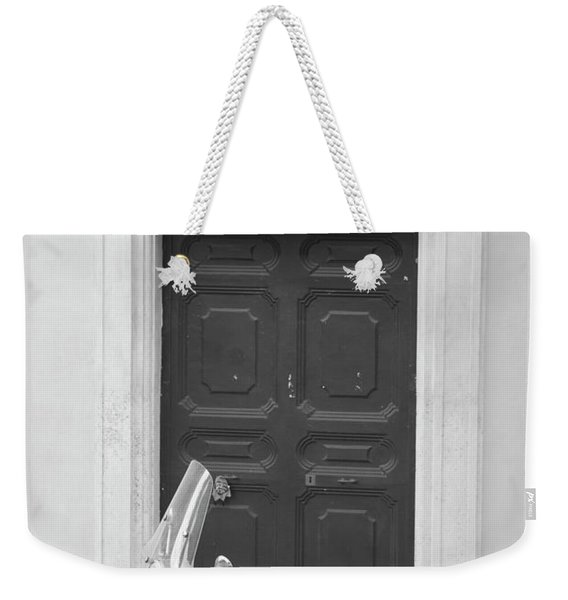 Roma Vespa And Door  Weekender Tote Bag