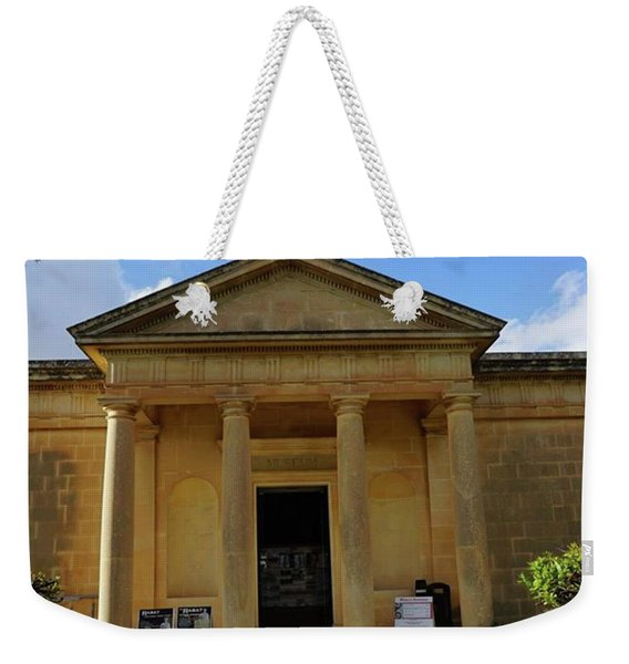 Roman Architecture Still Standing In Weekender Tote Bag