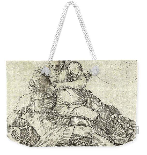 Roman Charity Weekender Tote Bag