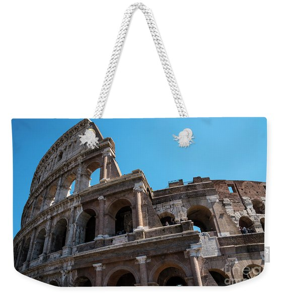 The Colosseum Of Rome Weekender Tote Bag