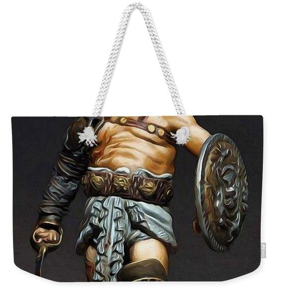 Roman Gladiator - 02 Weekender Tote Bag