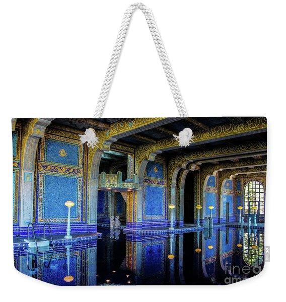 Roman Pool Weekender Tote Bag