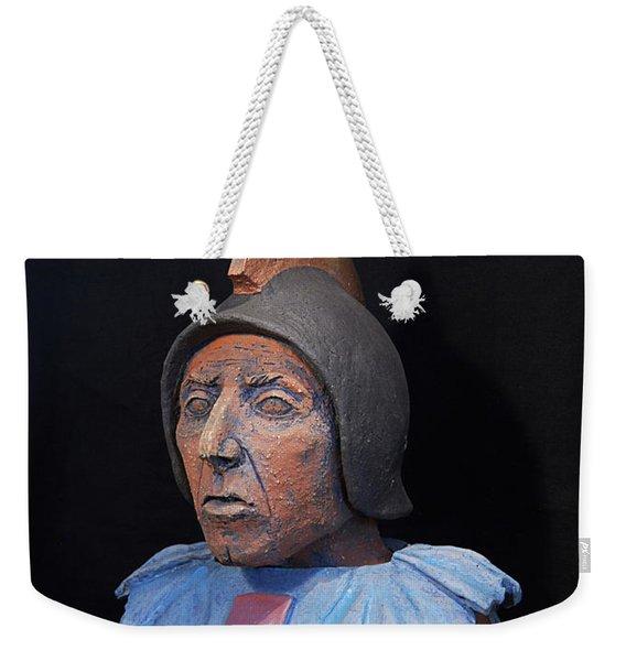Roman Warrior Roemer - Roemer Nettersheim Eifel - Military Of Ancient Rome - Bust - Romeinen Weekender Tote Bag