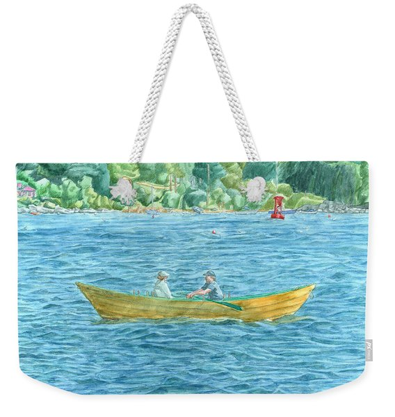Romance On Hussey Sound Weekender Tote Bag