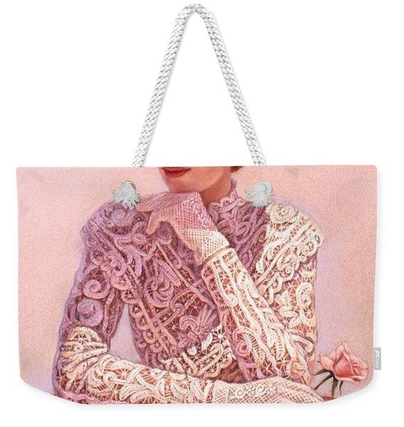 Romantic Lady Weekender Tote Bag