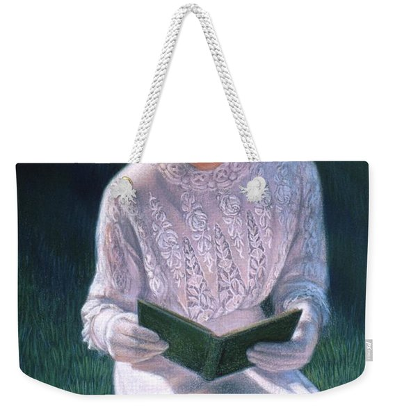 Romantic Novel Weekender Tote Bag