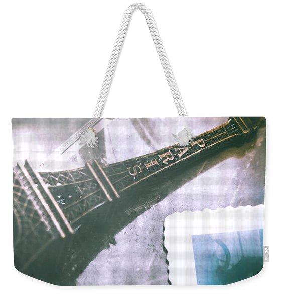 Romantic Paris Memory Weekender Tote Bag