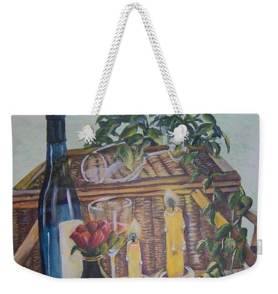 Romantic Picnic Weekender Tote Bag