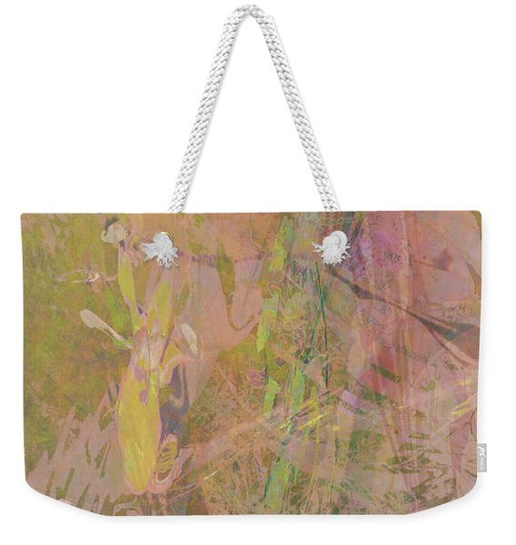 Romantic Rainbow Weekender Tote Bag