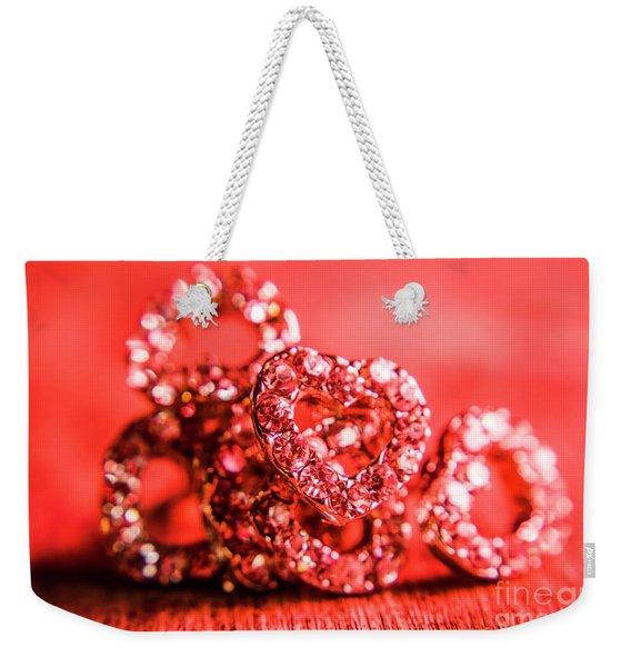 Romantic Style Weekender Tote Bag