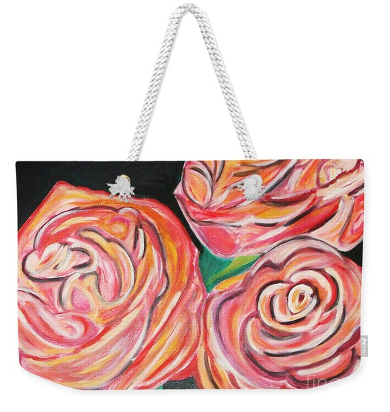 Romantic Weekender Tote Bag