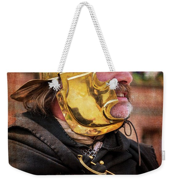 Enforcing The Will Of Rome Weekender Tote Bag
