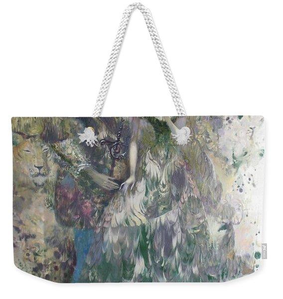 Romeo And Juliet. Monotype Weekender Tote Bag