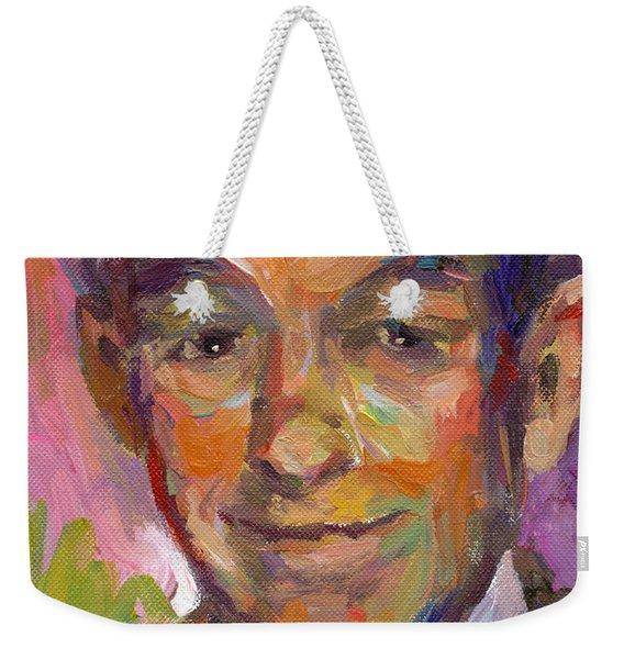 Ron Paul Art Impressionistic Painting  Weekender Tote Bag