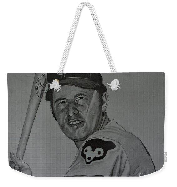 Ron Santo Portrait Weekender Tote Bag