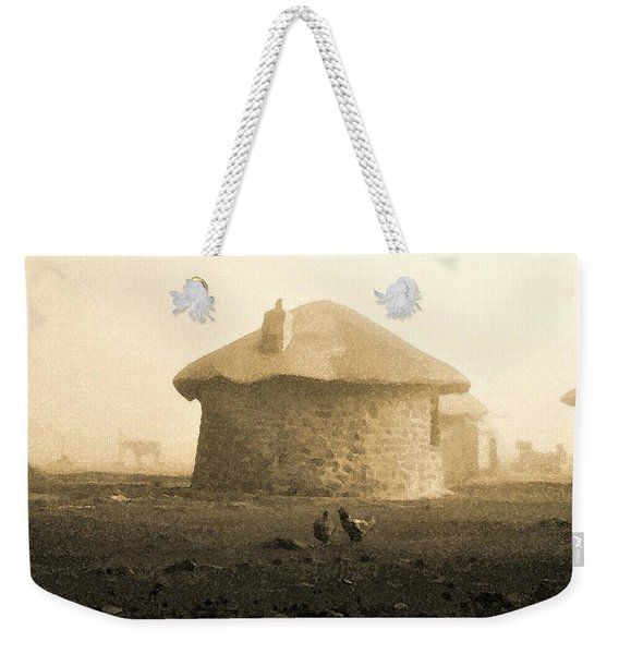 Rondavel In Lesotho Weekender Tote Bag