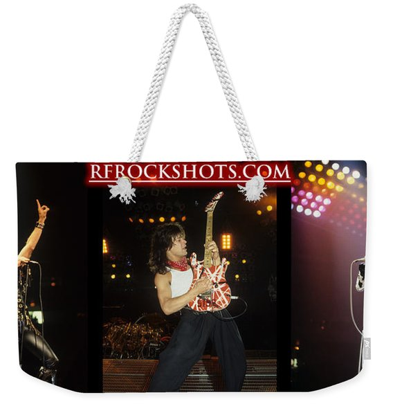 Ronnie James Dio, Eddie Van Halen And Steve Perry Weekender Tote Bag