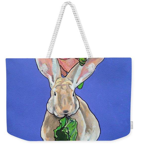 Ronnie The Rabbit Weekender Tote Bag