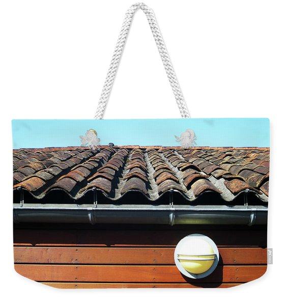 Roofline Ripples Weekender Tote Bag