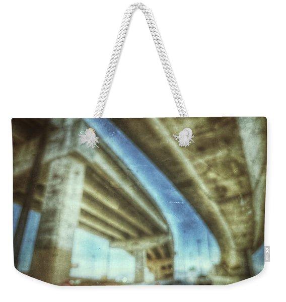 Rooftop Traffic  Weekender Tote Bag