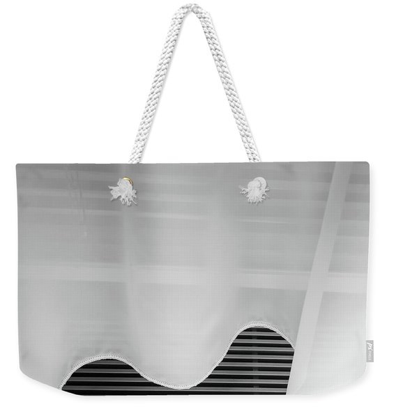 Weekender Tote Bag featuring the photograph Room 515 by Eric Lake