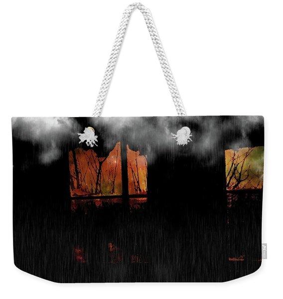 Room With Clouds Weekender Tote Bag